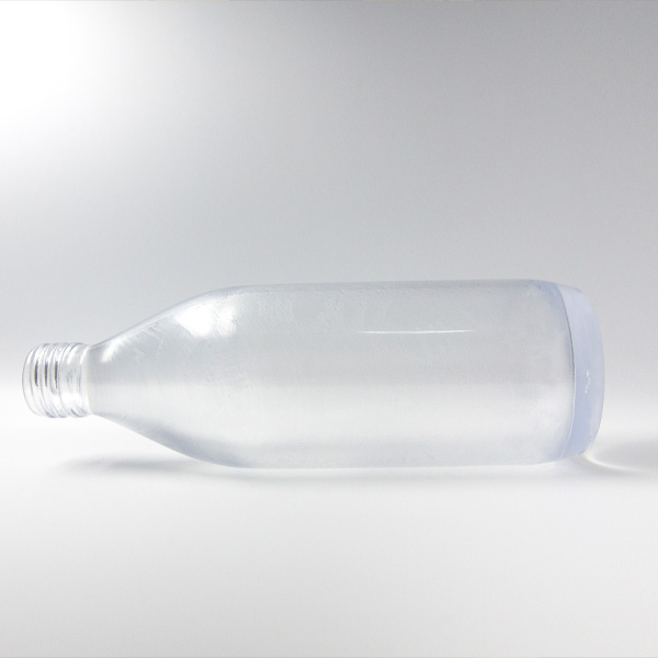 Transparent Bottle 3D Printed