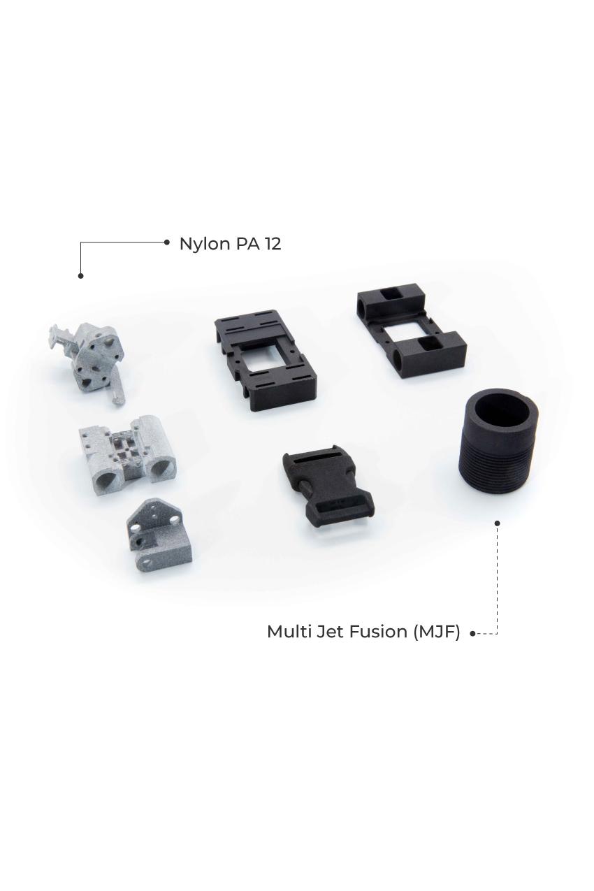MJF 3D Printing Service Australia Material
